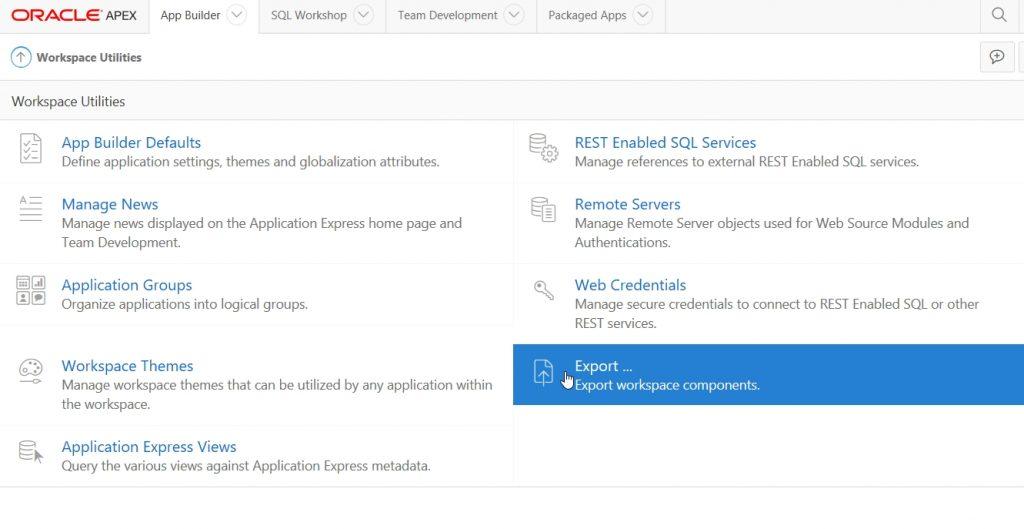 APEX Application Archive | INFORMATIK TRANSPARENT